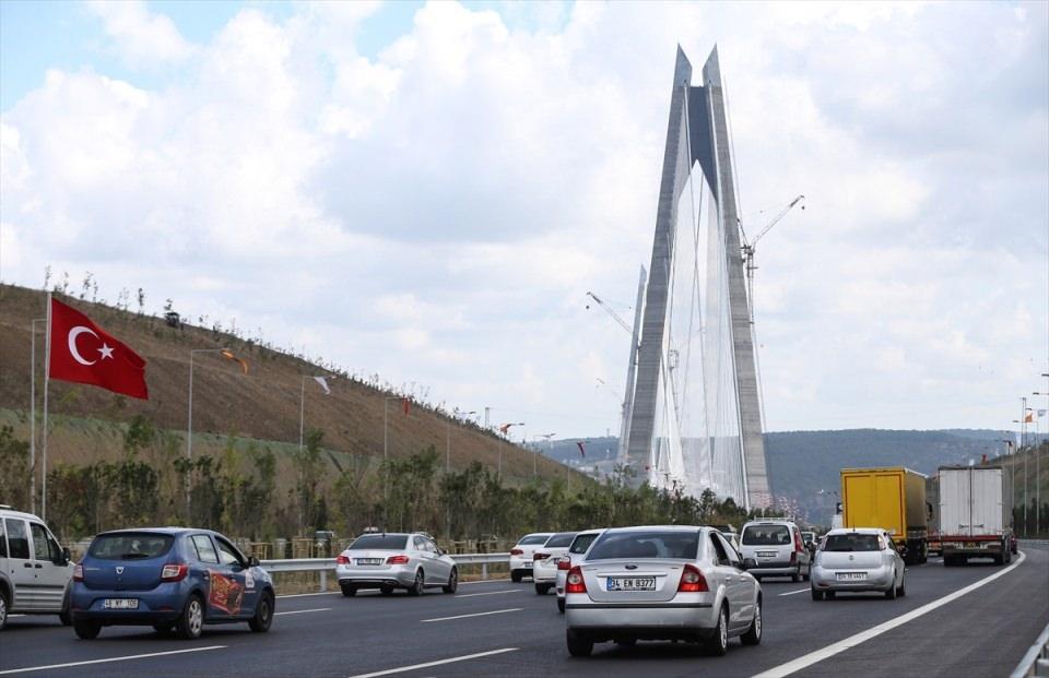 3. Köprü'de dikkat çeken ayrıntı 21