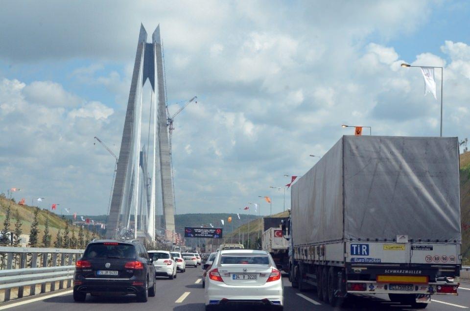 3. Köprü'de dikkat çeken ayrıntı 23