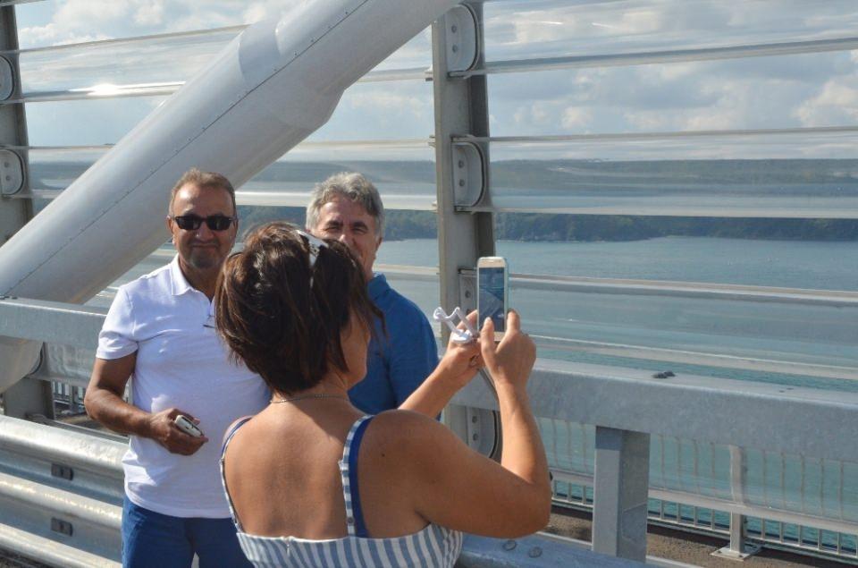 3. Köprü'de dikkat çeken ayrıntı 27