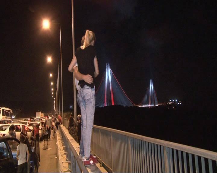 3. Köprü'de dikkat çeken ayrıntı 30