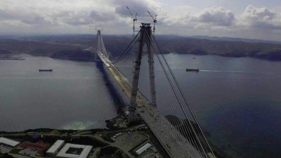 3. Köprü'de dikkat çeken ayrıntı 57
