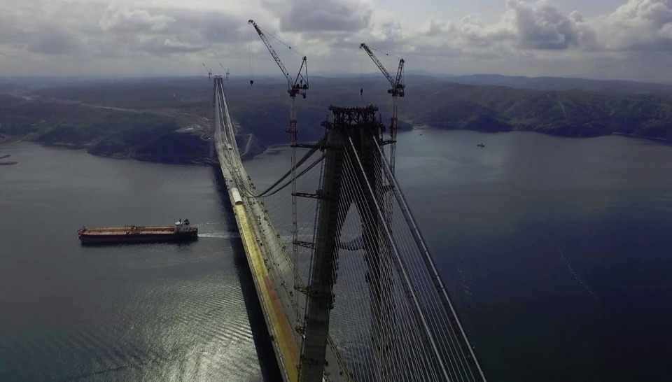 3. Köprü'de dikkat çeken ayrıntı 58
