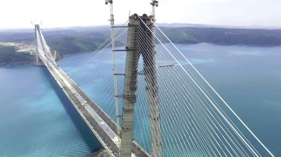 3. Köprü'de dikkat çeken ayrıntı 60