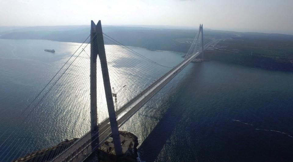 3. Köprü'de dikkat çeken ayrıntı 62