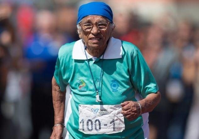 100 yaşında altın madalya kazandı 1