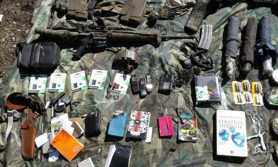 Cudi Dağı'nda 3 terörist öldürüldü 13