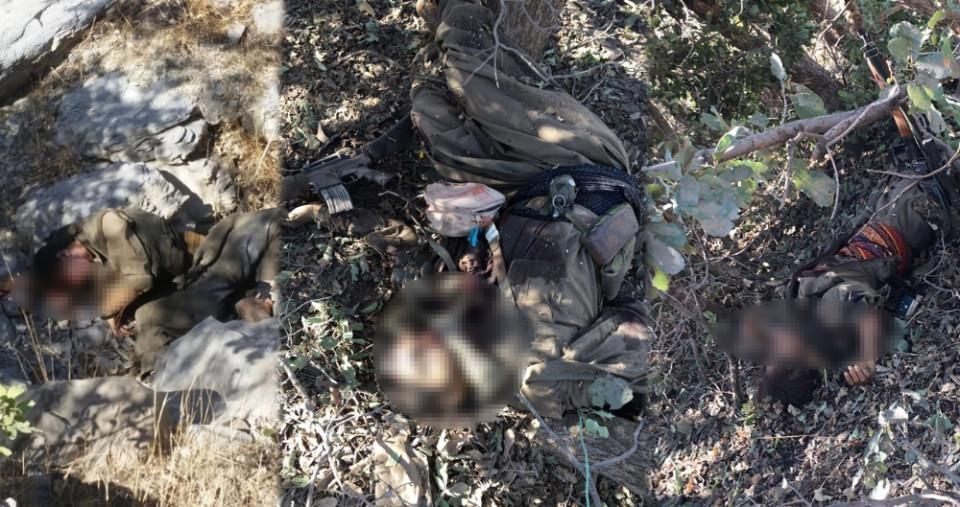 Cudi Dağı'nda 3 terörist öldürüldü 19