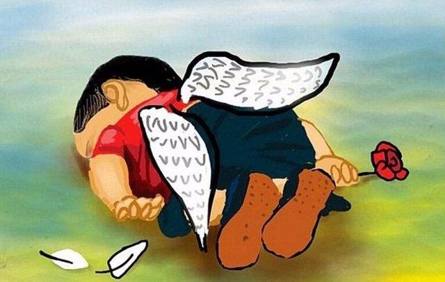 Dünyayı sarsan Aylan bebeğin ölümünün 1. yılı. 11