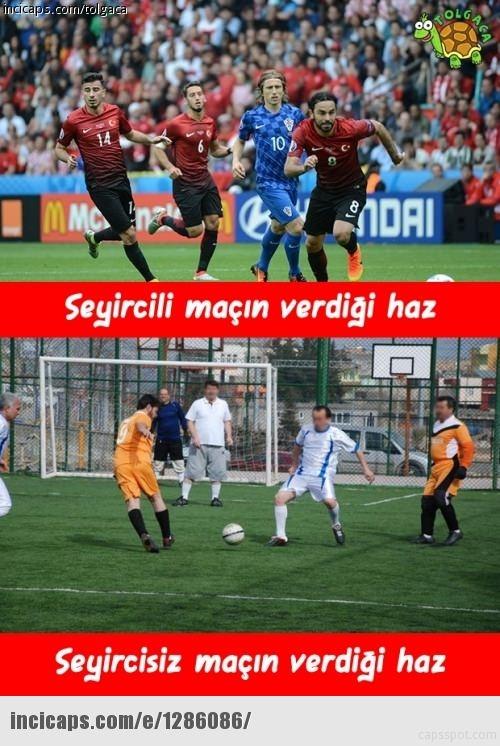 Milli maçtan sonra capsler patladı 28
