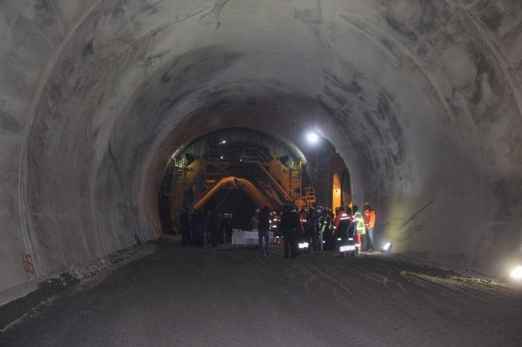 Ovit Tüneli'nde son 400 metre 10