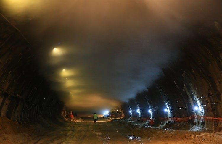 Ovit Tüneli'nde son 400 metre 12