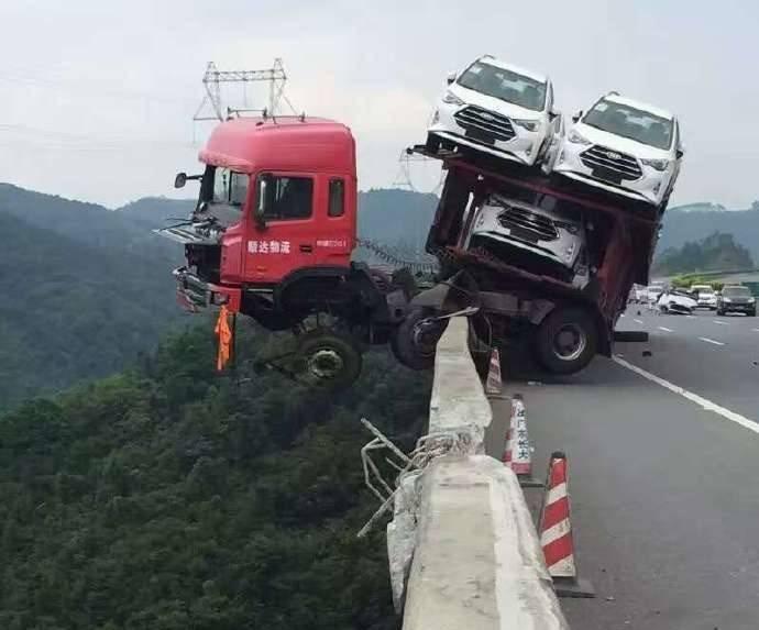 İnanılmaz trafik kazaları 1