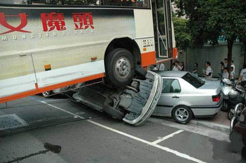 İnanılmaz trafik kazaları 23