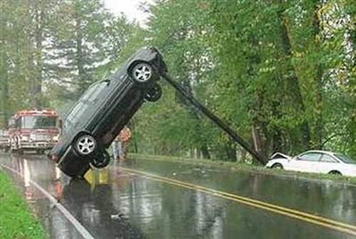 İnanılmaz trafik kazaları 46