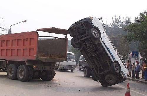 İnanılmaz trafik kazaları 5