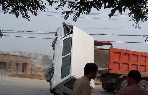 İnanılmaz trafik kazaları 6