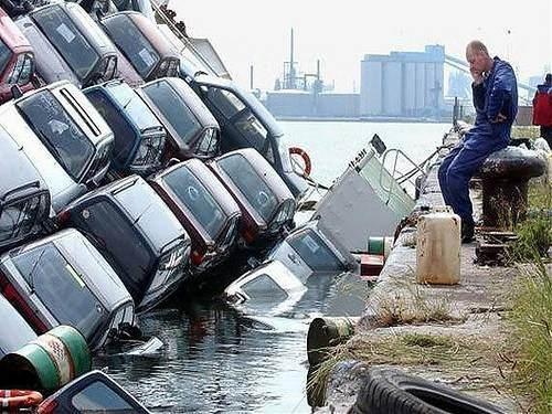 İnanılmaz trafik kazaları 61