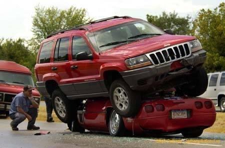 İnanılmaz trafik kazaları 62