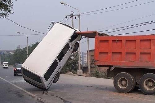 İnanılmaz trafik kazaları 7