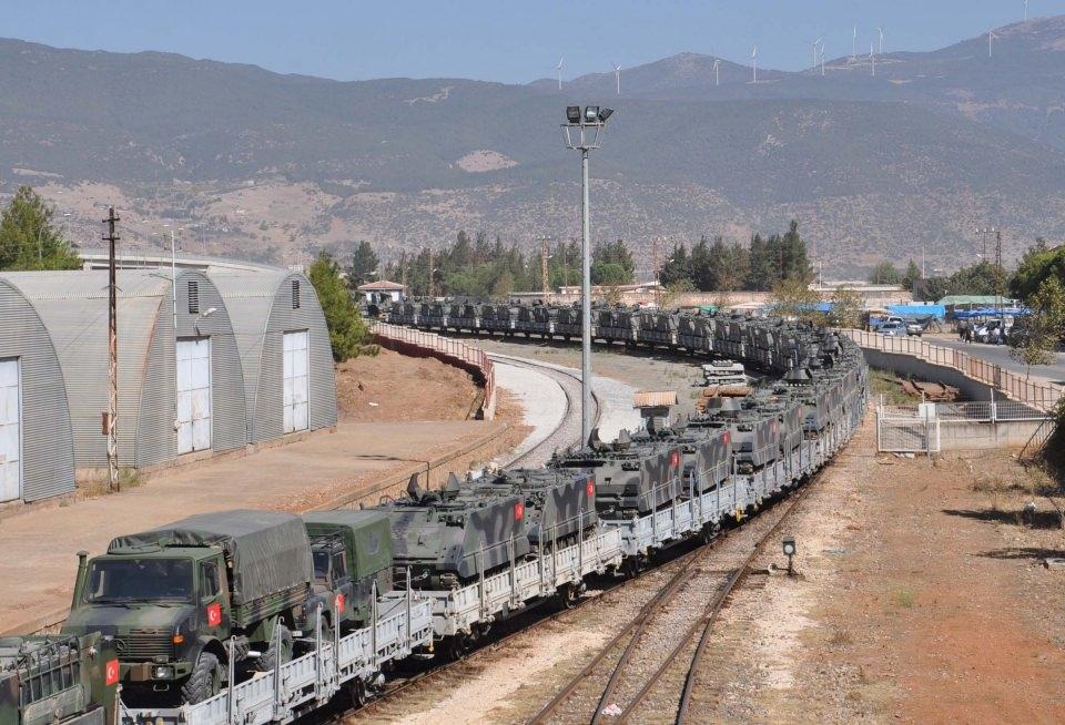 İstanbul'dan yola çıkan zırhlı araçlar Gaziantep'e ulaştı 1
