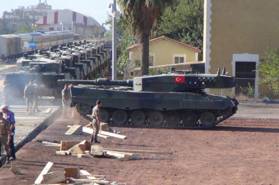 İstanbul'dan yola çıkan zırhlı araçlar Gaziantep'e ulaştı 10