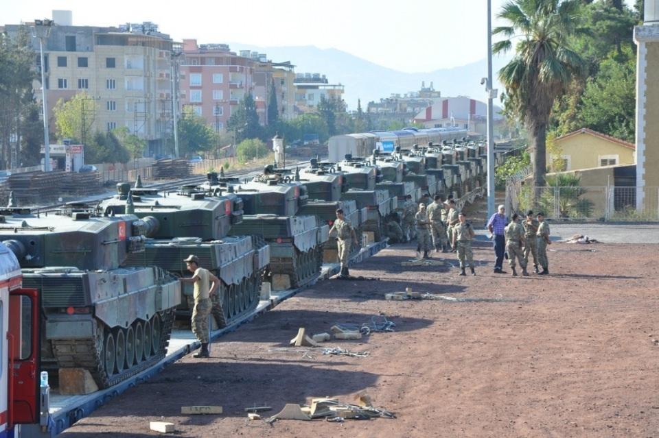 İstanbul'dan yola çıkan zırhlı araçlar Gaziantep'e ulaştı 11