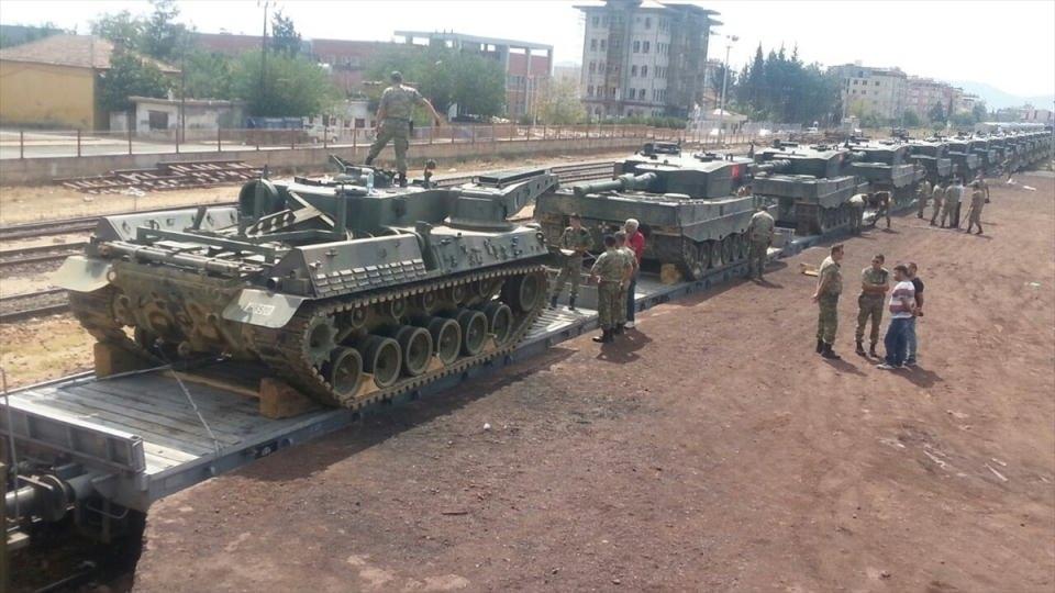 İstanbul'dan yola çıkan zırhlı araçlar Gaziantep'e ulaştı 12