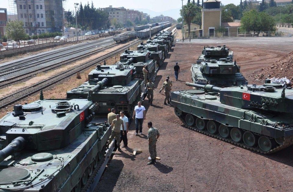 İstanbul'dan yola çıkan zırhlı araçlar Gaziantep'e ulaştı 14