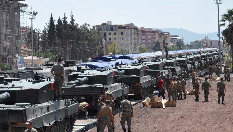 İstanbul'dan yola çıkan zırhlı araçlar Gaziantep'e ulaştı 15