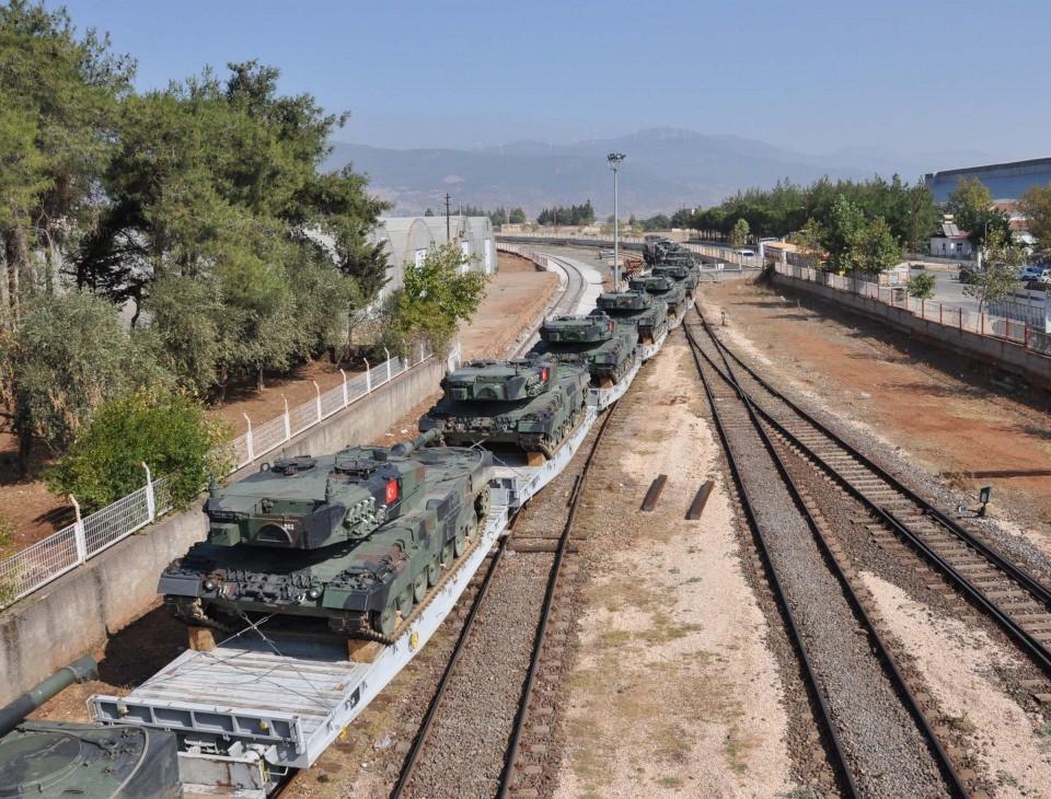 İstanbul'dan yola çıkan zırhlı araçlar Gaziantep'e ulaştı 18