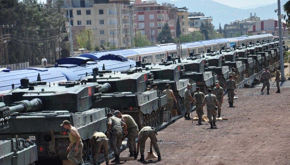 İstanbul'dan yola çıkan zırhlı araçlar Gaziantep'e ulaştı 19