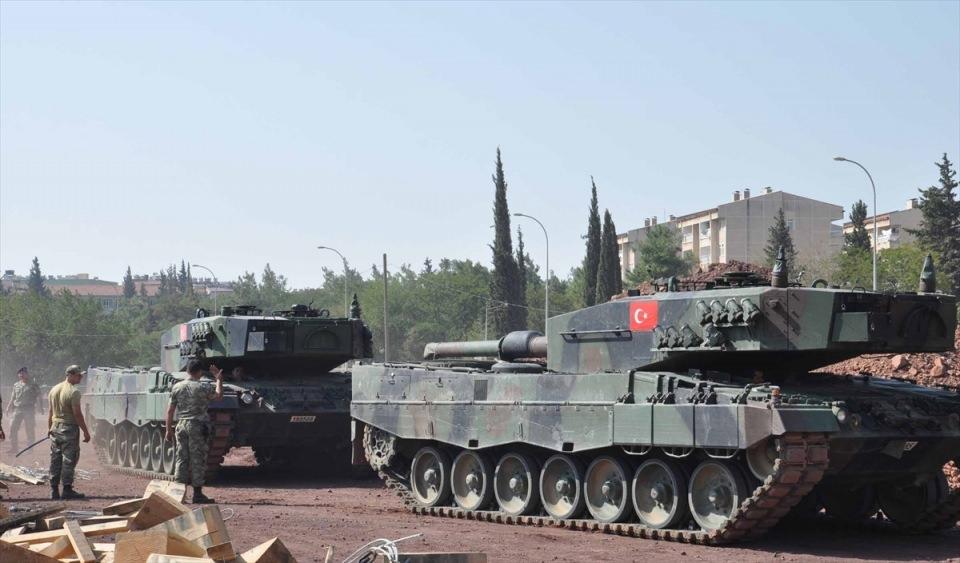 İstanbul'dan yola çıkan zırhlı araçlar Gaziantep'e ulaştı 21