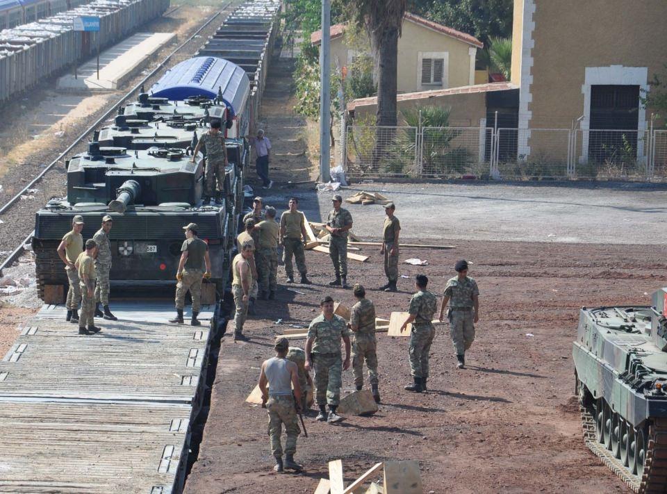 İstanbul'dan yola çıkan zırhlı araçlar Gaziantep'e ulaştı 22