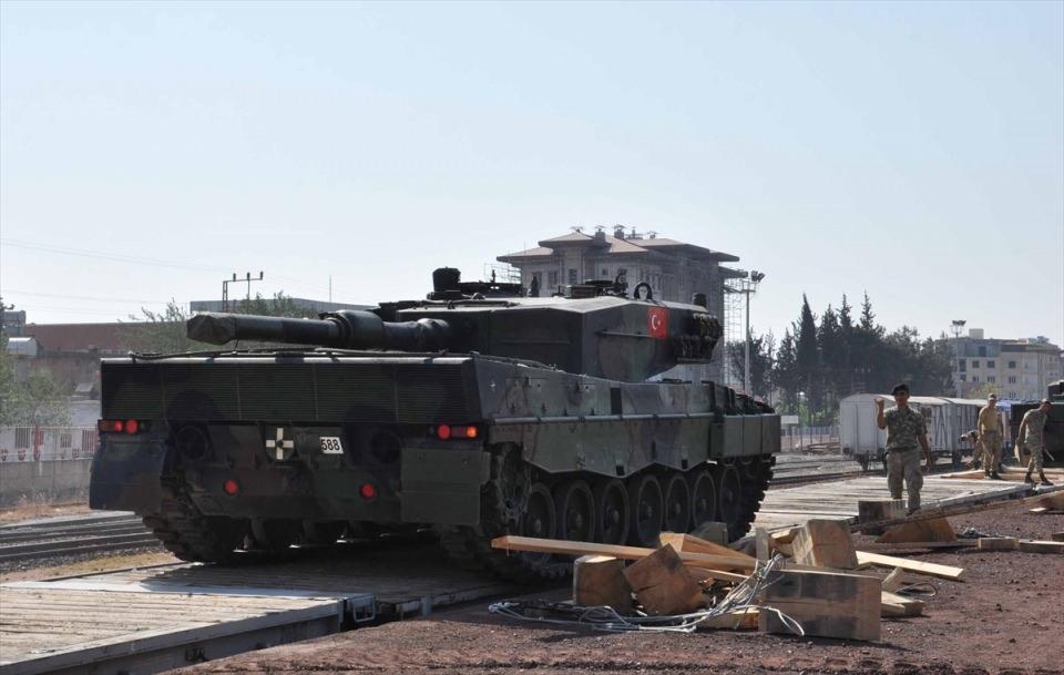 İstanbul'dan yola çıkan zırhlı araçlar Gaziantep'e ulaştı 24