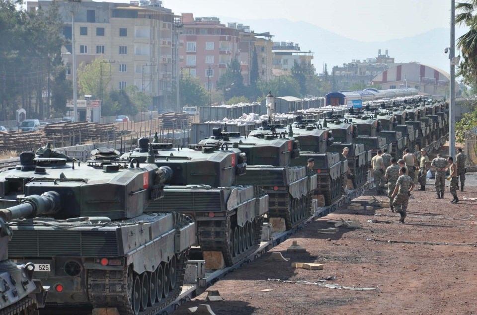 İstanbul'dan yola çıkan zırhlı araçlar Gaziantep'e ulaştı 25