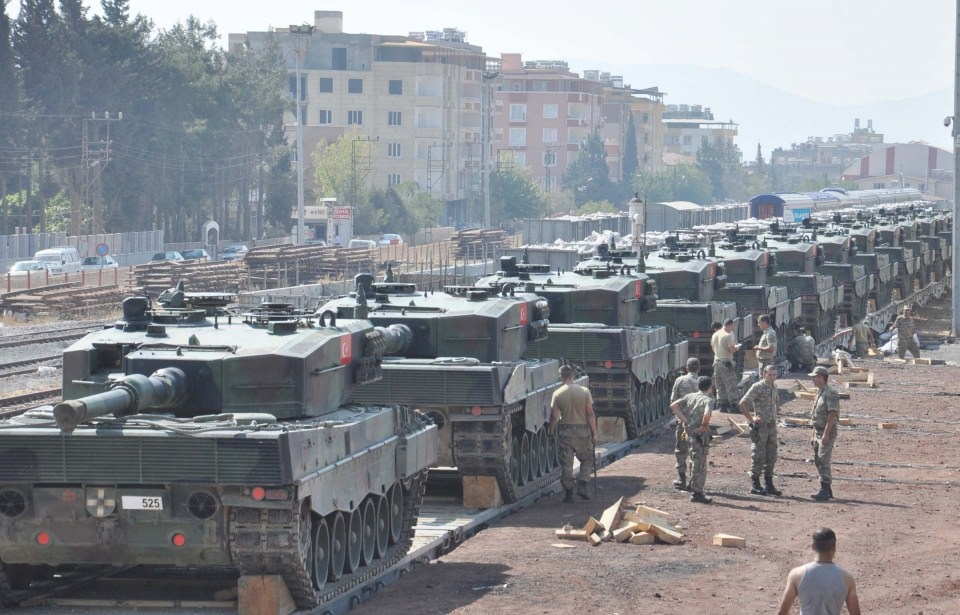 İstanbul'dan yola çıkan zırhlı araçlar Gaziantep'e ulaştı 26