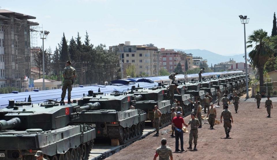 İstanbul'dan yola çıkan zırhlı araçlar Gaziantep'e ulaştı 27