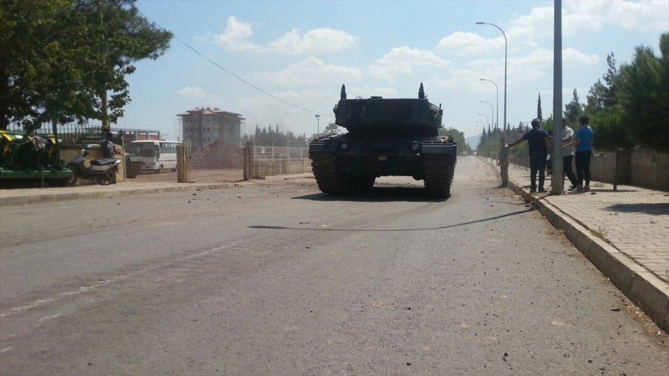 İstanbul'dan yola çıkan zırhlı araçlar Gaziantep'e ulaştı 29
