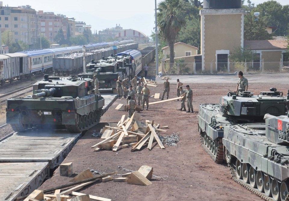 İstanbul'dan yola çıkan zırhlı araçlar Gaziantep'e ulaştı 35