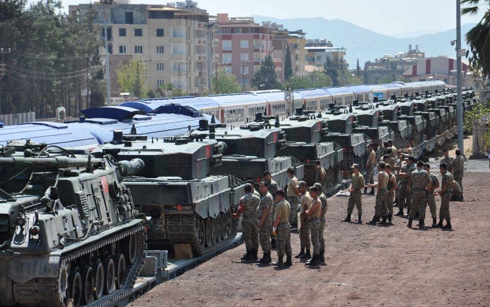 İstanbul'dan yola çıkan zırhlı araçlar Gaziantep'e ulaştı 36