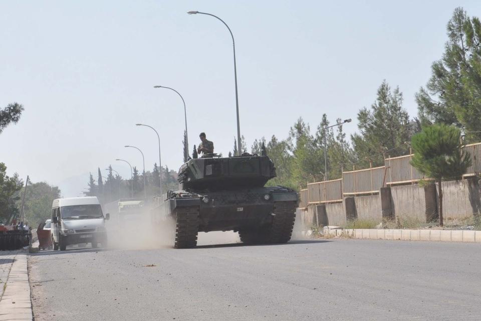 İstanbul'dan yola çıkan zırhlı araçlar Gaziantep'e ulaştı 38