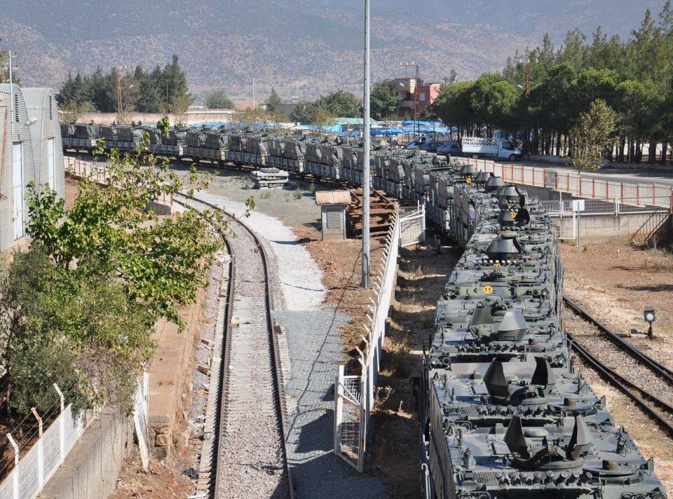 İstanbul'dan yola çıkan zırhlı araçlar Gaziantep'e ulaştı 5