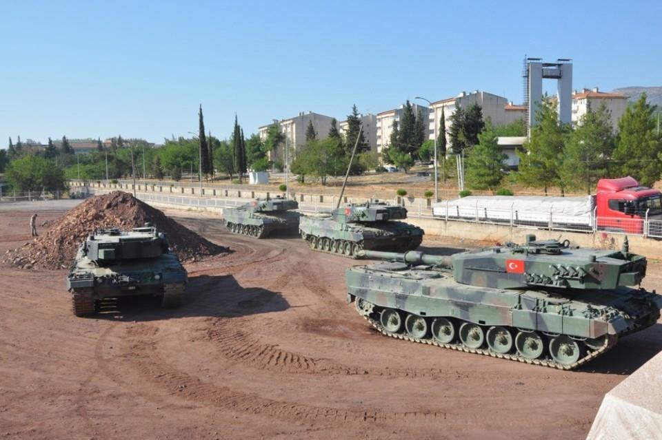 İstanbul'dan yola çıkan zırhlı araçlar Gaziantep'e ulaştı 7