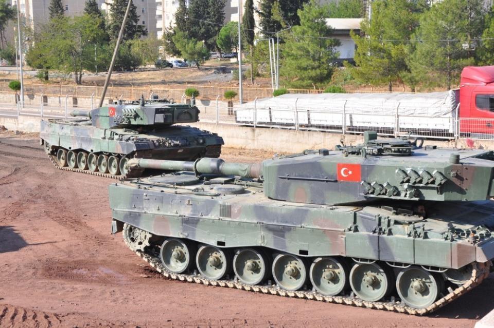 İstanbul'dan yola çıkan zırhlı araçlar Gaziantep'e ulaştı 8