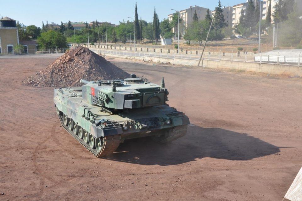 İstanbul'dan yola çıkan zırhlı araçlar Gaziantep'e ulaştı 9
