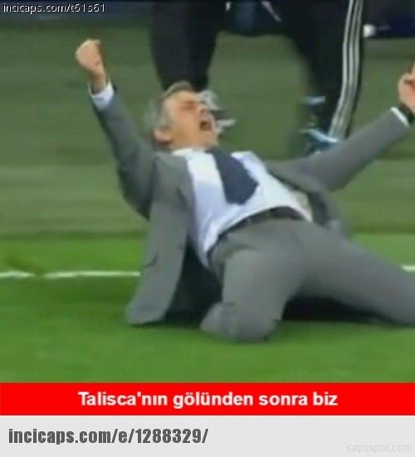 Benfica - Beşiktaş maçı capsleri 12