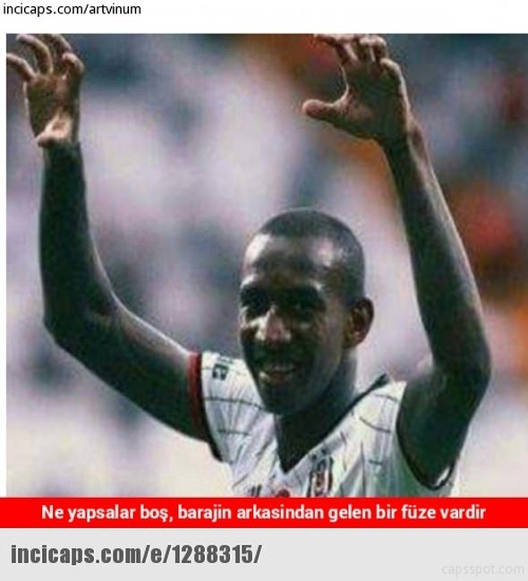 Benfica - Beşiktaş maçı capsleri 16