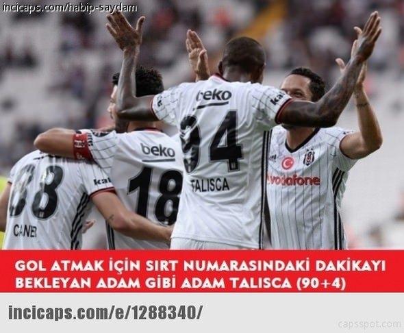 Benfica - Beşiktaş maçı capsleri 17
