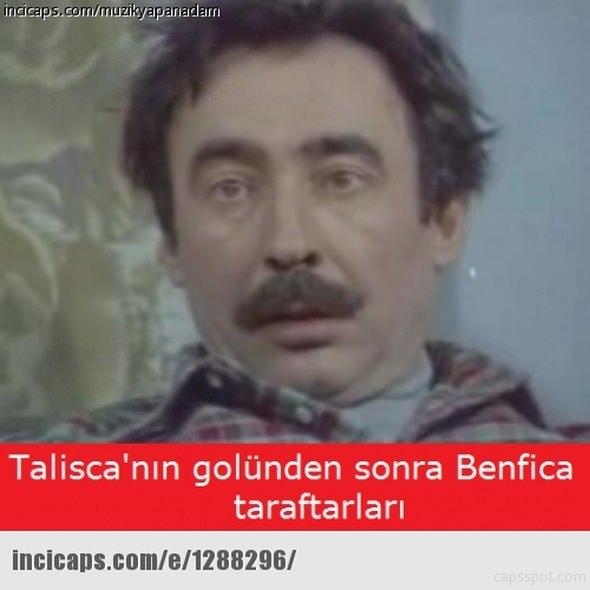 Benfica - Beşiktaş maçı capsleri 19