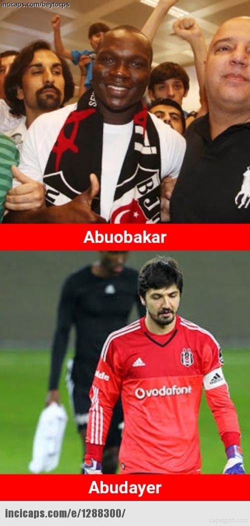 Benfica - Beşiktaş maçı capsleri 23